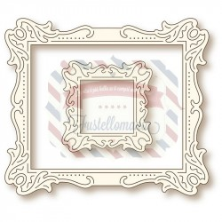 Fustella metallica Antique art frames