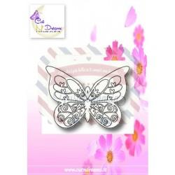 Fustella metallica Farfalla My Dream