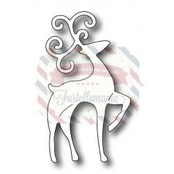 Fustella metallica Snow Globe Fancy Deer