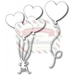 Fustella metallica Heart Balloons