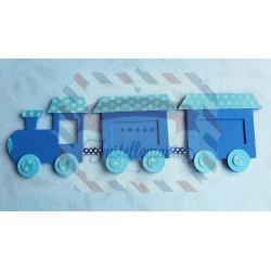 Fustella XL Locomotiva trenino e vagoni
