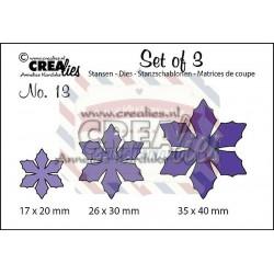 Fustella metallica Crealies Set of 3 nr 13
