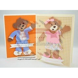 Fustella Sizzix Bigz Stampin Up Beary Essential