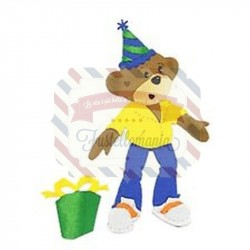 Fustella Sizzix Bigz Boy Bear & Party Hat