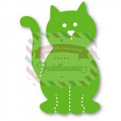 Fustella Sizzix Originals Green Gatto