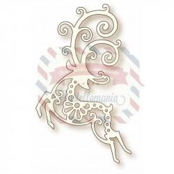 Fustella metallica Reindeer
