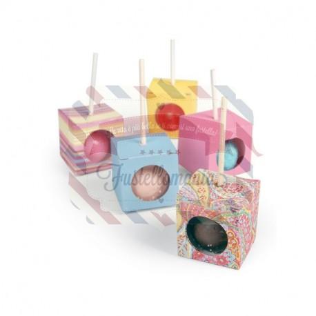 Fustella Sizzix Bigz L Box Cake Pop