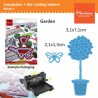 Fustella metallica Marianne Design Creatables Topiary and Butterfly