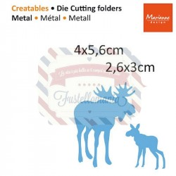 Fustella metallica Marianne Design Creatables Elands