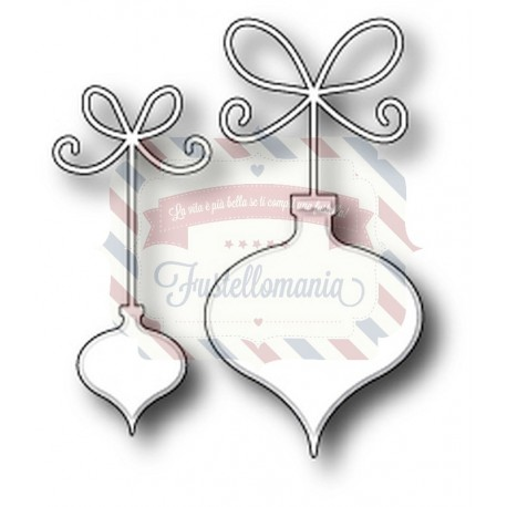 Fustella metallica Memory Box Precious Ornaments