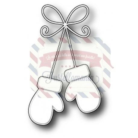 Fustella metallica Memory Box Precious Mittens