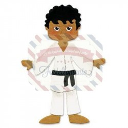 Fustella Sizzix Originals Dress Ups Karate Uniform