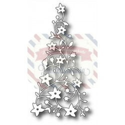 Fustella metallica Memory Box Flowering Christmas Tree