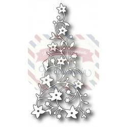 Fustella metallica Memory Box Flowering Christmas Tree