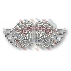 Fustella metallica Memory Box Lacy Angel Wings