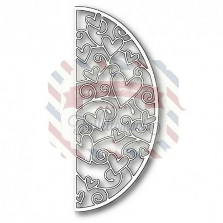 Fustella metallica Memory Box Loving Hearts Arch