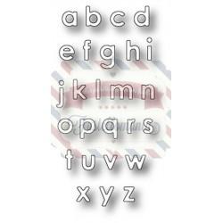 Fustella metallica Memory Box Alphabet Soup