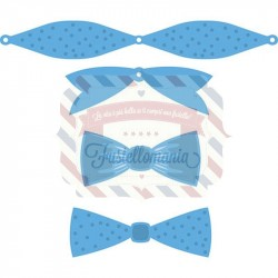 Fustella metallica Marianne Design Creatables Mix & Match bows