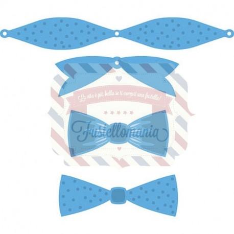 Fustella metallica Marianne Design Creatables Mix & Match bows