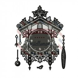 Fustella metallica Marianne Design Craftables Cuckoo Clock