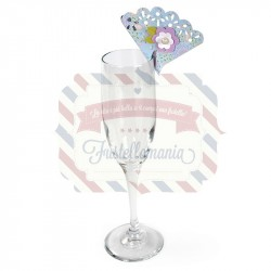 Fustella Sizzix Thinlits Perching Place card Fan