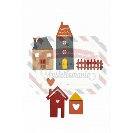 Fustella Sizzix Thinlits Townhouse