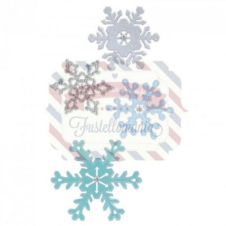 Fustella Sizzix Thinlits Snowflakes 2