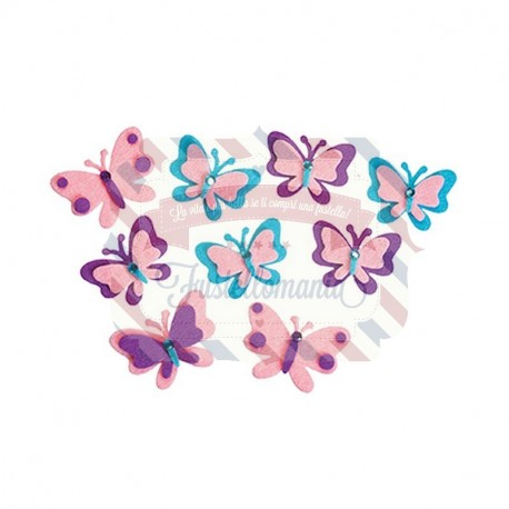 Fustellati 20 Farfalle