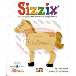Fustella Sizzix Originals Cavallo Horse