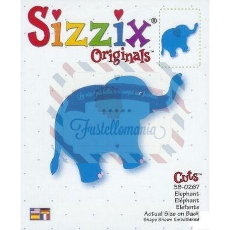 Fustella Sizzix BigZ Elefante