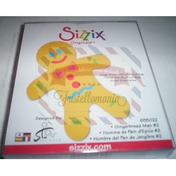Fustella Sizzix Originals Gingerbread Man 2