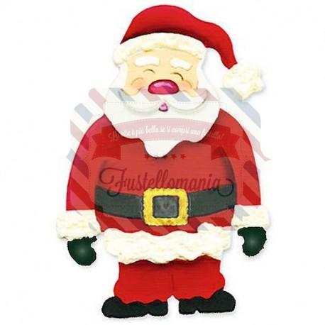 Fustella Sizzix Originals Santa Claus