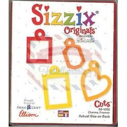 Fustella Sizzix Originals Charmes Frames