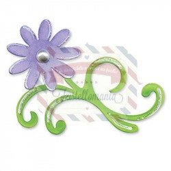 Fustella Sizzix Bigz Flourish Floral