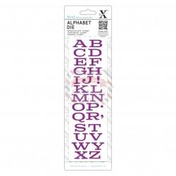 Fustella metallica Xcut Mid West Alphabet