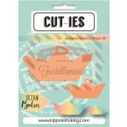 Fustella metallica CUT-IES Ocean Babies Paperboat