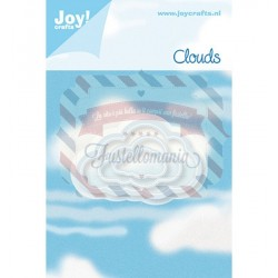 Fustella metallica Joy! Crafts Clouds