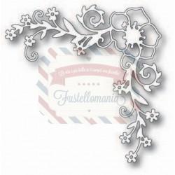 Fustella metallica Tutti Designs Flower Symphony Corner