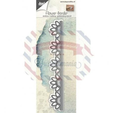 Fustella metallica Joy! Crafts Flower Border