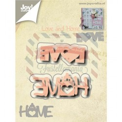 Fustella metallica Joy! Crafts Love and Home