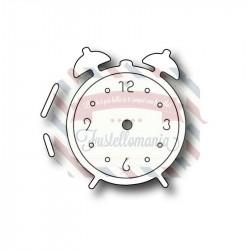 Fustella metallica Sm Retro Alarm Clock