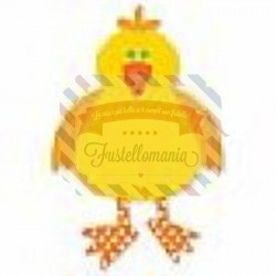 Fustella Sizzix Originals Yellow Bird
