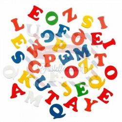 Fustellati 135 pezzi Lettere alfabeto in fommy adesive