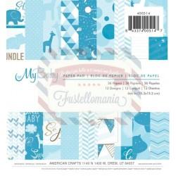 Paper pads imaginisce My Baby Boy - Set 36 fogli