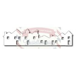 Fustella metallica Downtown Row Houses