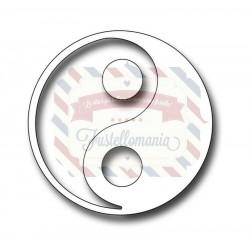 Fustella metallica Yin Yang
