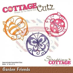 Fustella metallica Cottage Cutz Garden Friends