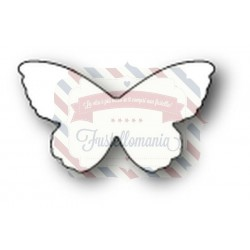 Fustella metallica PoppyStamps Lyndon Butterfly