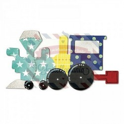 Fustella Sizzix Bigz Train Locomotive