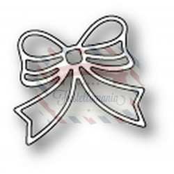 Fustella metallica PoppyStamps Fluffy Bow